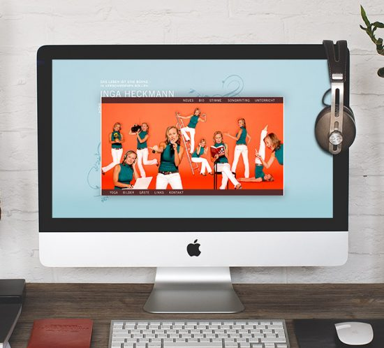 Webdesign Dachau - Inga Heckmann Internetseite