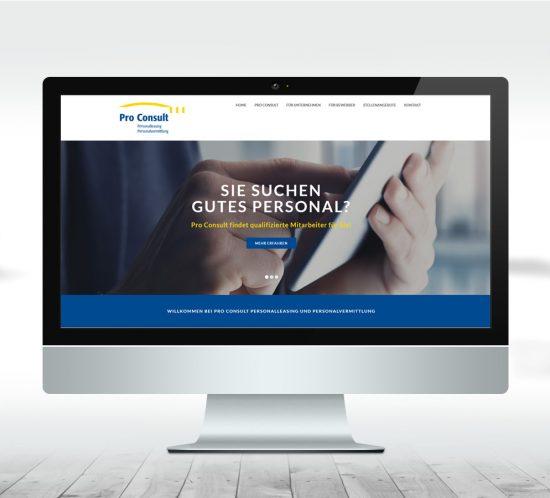 Webdesign Dachau - ProConsult Dachau