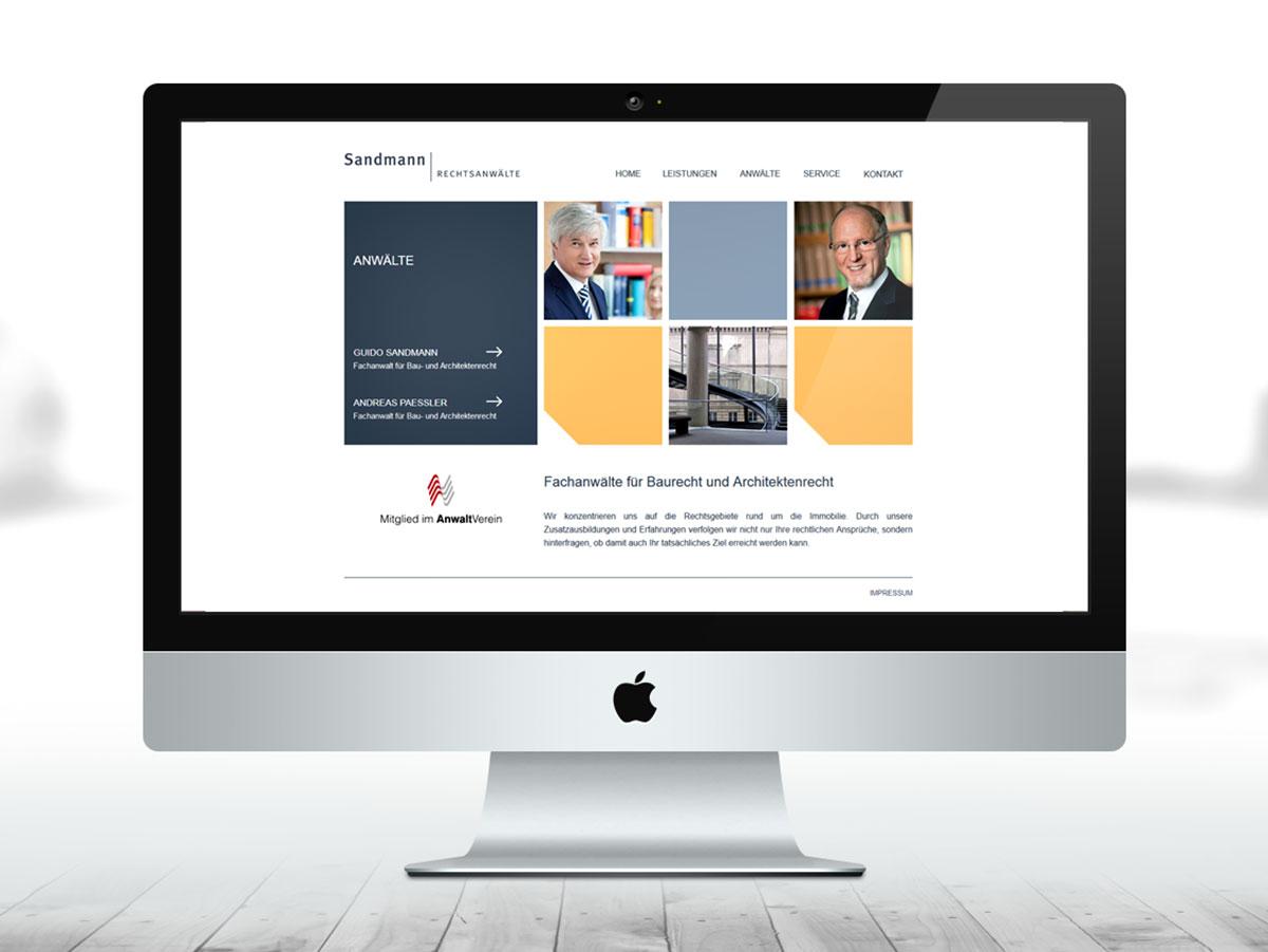 Werbeagentur Dachau - RA Sandmann Webdesign