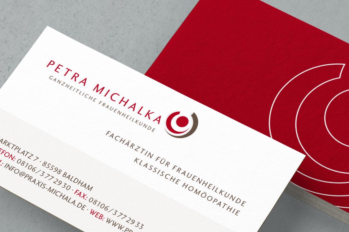 Frauenärztin Petra Michalka - Logoentwicklung