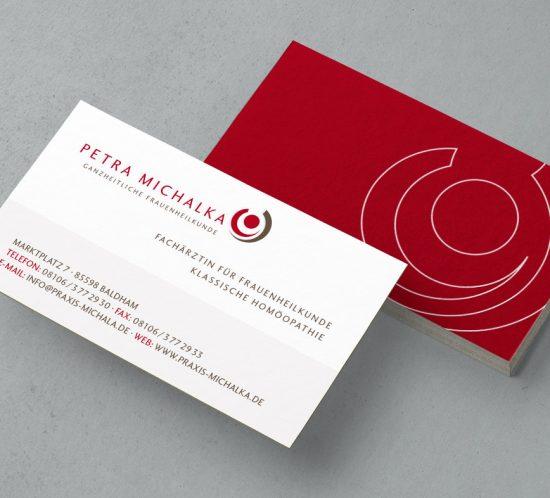 Frauenärztin Petra Michalka - Logo & Corporate Design