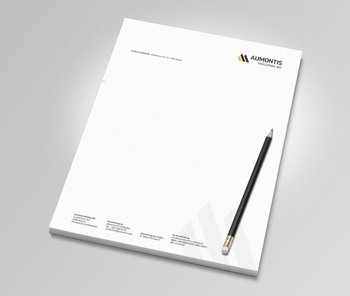 Aumontis Logoentwicklung