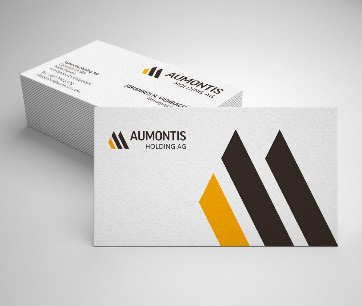 Aumontis Visitenkarten